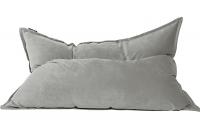 Кресло подушка Light-gray Velvet