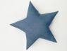Подушка звезда Gray-Blue Velvet