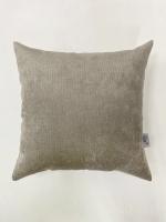 Декоративная подушка Velour Light-Gray