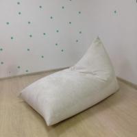 Треугольное кресло Velour Coffe&Milk